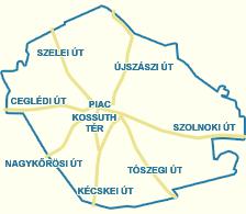abony térkép Utcakereső.hu   Abony   Vak Bottyán utca abony térkép
