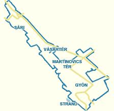 dabas térkép Utcakereső.hu   Dabas   Ond vezér út dabas térkép