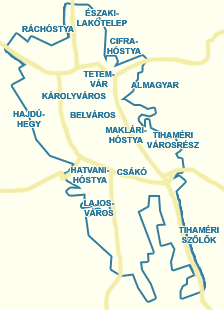 nyomtatható eger térkép Utcakereső.hu   Eger térkép   nagyvárosok és Pest megyei  nyomtatható eger térkép