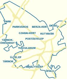 érd térkép Utcakereső.hu   Érd térkép   nagyvárosok és Pest megyei