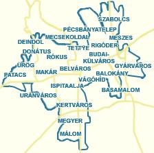 pécs térkép Utcakereső.hu   Pécs térkép   nagyvárosok és Pest megyei