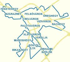 fehérvár térkép Utcakereső.hu   Székesfehérvár térkép   nagyvárosok és Pest megyei  fehérvár térkép