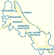 térkép tatabánya Utcakereső.hu   Tatabánya térkép   nagyvárosok és Pest megyei  térkép tatabánya